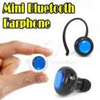 Супер Mini Bluetooth стерео с одной стороны ушной крючок гарнитура беспроводная наушники микрофон руки призыв к iphone 5 6 большой S3 S4 S5