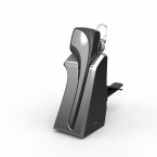 Dacom C-BLUE2 профессиональный водитель автомобиля беспроводная гарнитура Bluetooth V4.0 наушников анти-крюк с микрофоном фото-съемку серый