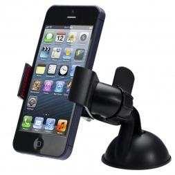 Balck белый универсальный лобовое стекло автомобиля держатель телефона автомобильный держатель для iPhone 5S 5C 5 г 4S MP3 iPod GPS Samsung бесплатная доставка yay