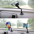 Hot 1 шт. высокое качество автомобильный держатель 360 вращения ветрового стекла кронштейн для GPS мобильного телефона оптовая продажа продвижение