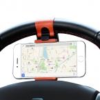 Универсальный рулевого колеса автомобиля телефон гнездо держатель ориентироваться чехол для iPhone SE 4 5S 6 S плюс для Samsung Galaxy S7 S5 S6 край