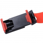 Универсальный рулевого колеса автомобиля мобильного телефона держатель, Кронштейн для iPhone Xiaomi Samsung Huawei Meizu GPS ширина подходящих 55 мм - 75 мм