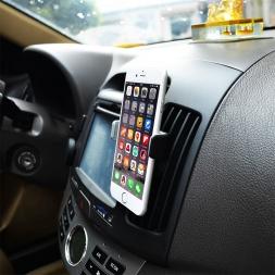 Универсальный автомобильный держатель отверстие телефон в машине мобильный телефон держатель для iPhone Samsung xiaomi редми примечание 2 lenovo