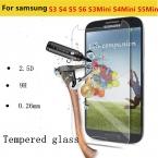 Премиум 0.26 мм 2.5D 9 H Закаленное Стекло Фильм Взрывозащищенный Экран протектор для Samsung Galaxy S3 S4 S5 S6 S3mini S4mini S5mini