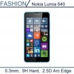 0.3 мм премиум закаленное стекло для Nokia Lumia 640 5 '' 9 H жесткий 2.5D дуги края прозрачный экран протектор с чистые инструменты