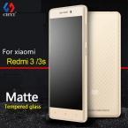9 H Матовое Закаленное Стекло Пленка Для Xiaomi Redmi 3 3 S Pro Matte Протектор Экрана 5.0 inch Redmi3 Нет отпечатков пальцев Стекла защитные