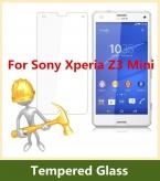 2.5D ДУГОВЫМ Ребром 9 9н Твердость Закаленного Стекла Для Sony Xperia Z3mini Экран Протектор Взрывозащищенный Пленка для Xperia Z3 Compact M55W