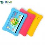 Irulu марка 7 '' дети планшет для детей RK3128 четырехъядерных процессоров IPS экрана 1024 * 600 андроид 4.2.2 512 м   8 ГБ wifi Babypad  новый