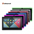 Alldaymall Дешевый Планшетный ПК 7 дюймов A88X Allwinner Android Tablet 4.4 Quad Core Dual Фотоаппараты Таблетки 8 ГБ ROM HD tablette