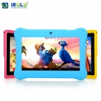 """IRULU BabyPad Y1 7 """"дети Tablet PC Quad Core Двойной Камеры Android 4.4 8 ГБ Бесплатная Игра Узнать Расти Играть Образования Детей  Горячий 9"""