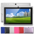 5 Цветов 8 ГБ Q88 7 дюймов Планшетный ПК Allwinner A33 Quad-Core 512 МБ/8 ГБ 1024x600 Двойная Камера WIFI 2800 мАч tablet