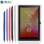 """Irulu eXpro X1 7 """" планшет PC 1024 * 600 HD Android 4.4 планшет четырехъядерных процессоров 8 ГБ / 16 ГБ ROM Cam OTG WIFI Google APP играть новый горячий"""