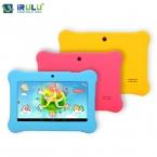 """Irulu BABYPAD eXpro X1 7 """" дети планшет Google GMS тест четырехъядерный процессор Cam Android 4.4 8 ГБ бесплатные игры узнать расти ребенок образование"""