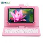 """Irulu планшет eXpro X1 7 """" 1024 * 600 HD Allwinner A33 Google APP играть Android 4.4 планшет четырехъядерных процессоров 8 ГБ двойная камера WIFI клавиатура"""