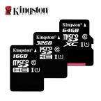 Kingston Class 10 Карта Micro Sd 16 ГБ 32 ГБ 64 ГБ 128 ГБ Карты Памяти C10 Мини Карты SD C4 4 ГБ 8 ГБ SDHC SDXC TF Карты для смартфон