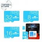 Miniseas Micro SD Card Class10 4 ГБ 32GB16GB 64 ГБ/8 ГБ Class 6 Карты Памяти Флэш-Памяти Microsd для Смартфонов