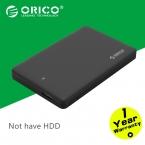 Orico 2599US3 Sata3.0 к USB 3.0 HDD чехол без инструментов 2.5 HDD корпус для настольного ноутбука жесткий диск коробке ( не включая HDD )