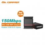 Мини USB WI-FI 150 М Wi-Fi Адаптер 802.11n/g/b Wi-Fi Антенны 150 Мбит/С Wireless LAN Сетевая Карта Внешний USB wi-fi для Рабочего Стола ноутбук