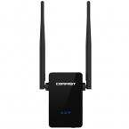 Comfast wi-fi ретранслятор маршрутизатор 300 м двойной 5dBi антенны усилитель сигнала беспроводной wi-fi ретранслятор 802.11N / B / G сети Roteador