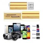 Все в одном USB 2.0 Multi Чтения Карт Памяти для Micro SD/TF M2 MMC SDHC MS Memory Stick Горячий по всему миру