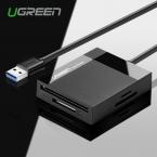 Ugreen Все в 1 USB 3.0 Считыватель Смарт-Карт Flash Нескольких Памяти USB Кард-ридер для TF для SD для CF для MS Карты адаптер