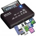 Все в устройство чтения карт памяти USB внешний SDHC мини-микро M2 MMC XD CF черный высокое качество