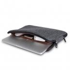 Топ Продаж Мужчин Чувствовал Водонепроницаемый Сумка Для Ноутбука 11 12 13 14 15   подарок Клавиатуры Обложка для Macbook Air Pro 13 Laptop Sleeve Сумка 13.3