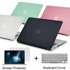 НОВЫЙ Матовый Чехол Для Apple macbook Air Pro Retina 11 12 13 15 ноутбук сумка Для Mac book 13.3 дюймов