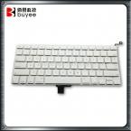Оригинальный сша раскладки клавиатуры для Macbook Pro 13 дюймов белый сша A1342 клавиатура