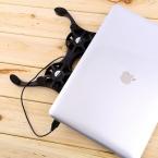 2 Порта USB Мини Осьминог Ноутбука Вентилятор Cooler Cooling Pad Складной Коллер Вентилятор Cooling Pad Оптом Магазин