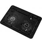 Хорошие продажи USB 2 вентилятора порт охлаждения кулер для ноутбуков ноутбук с из светодиодов свет бесплатная доставка и оптовая продажа январь 11