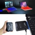 Мини Вакуумные USB Ноутбука Cooler Воздуха Извлечение Охлаждения Выхлопных Вентилятор Кулер для Ноутбука P4PM