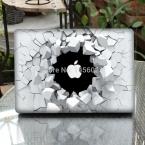 """Трещин Стены Ноутбука Наклейка Полное Покрытие Кожи для Apple MacBook Air/Pro/Retina 11 """"13"""" 15 Компьютер Защитный Корпус Ноутбука Наклейка"""