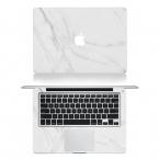 Белый мрамор зерна всего тела крышка ноутбука наклейка наклейки чехол для Apple Macbook Pro Retina 11 13 15 дюймов защитная пленка