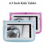 4,3 inch дети mp4 планшетный пк дети образование обучения пк дети игры площадку ёмкостный экран двойной камера wi-fi подарки