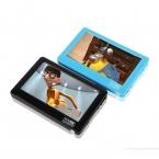 HD Сенсорный Экран 8 ГБ MP4 Синий MP5 Плеер Со Спикером Av выход Игровой Консоли 4.3 MP4 MP5 Игрок MP4 Рекордер Мини Музыка плеер