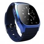 Оригинал Bluetooth Смарт Watch M26 часы Барометр Alitmeter Музыка Шагомер для Android IOS Телефон pk u8 smartwatch dz09 u80 w8