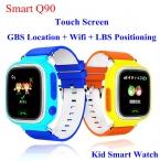 GPS Q90 Сенсорный Экран WIFI Позиционирования Смарт Часы Детей SOS Вызова Расположение Finder Устройства Трекер Малыш Сейф Анти Потерянный Монитор