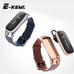 E9 Умный Браслет Говорить Диапазон Гарнитуры Bluetooth Smartwatch Поддержка браслет Шагомер Sleep Monitor для Android Ios Смарт-Часы