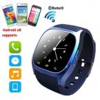 Смарт Bluetooth Watch M26 С Набором/SMS Напоминающие/Музыкальный Плеер/Шагомер для Подарок На День Рождения PK U8, DZ09