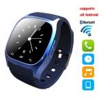 M26 Bluetooth Смарт Часы наручные Часы smartwatch с Набора SMS Напомнить Плеера Шагомер для Android Смартфонов Samsung
