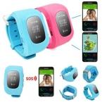 Смарт-Телефон-Часы Дети Ребенок Наручные Часы W5 GSM GPRS GPS Локатор Трекер Анти-Потерянный Smartwatch Ребенок Гвардии для iOS Android