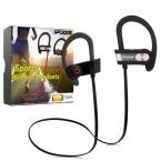 IPUDIS Спорт Свет Bluetooth Наушники Ушной Крючок Беспроводные Наушники Стерео V4.1 Портативная Гарнитура 110 мАч