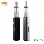 SMY 35 бокс, современный набор, электронная сигарета, испаритель, 7-35 Вт, 18650, электронная сигарета, в виде ручки, электронный кальян, Smok VCT, профессиональный атомайзер, набор, X9018