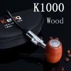 Электронная Сигарета/Курительная трубка Kamry K1000 набор. Цвет - Дерево, Батарея -18350