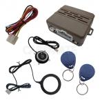 Дизайн Автомобиля RFID Сигнализация С Пальцем Двигателя Start Stop Кнопка И 2 Иммобилайзер Транспондеров