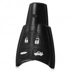 Держатель Дело Shell 4-кнопка Защитная Крышка для Saab Защиты Кнопки От Чрезмерного Износа с Резиновым Материалом B18 Автомобиля Дистанционный Ключ