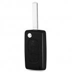 E14 Автомобиля Дистанционного Свет Держатель Ключа Случае Shell 3-кнопочная Флип Защитная Крышка Подходит для Citroen с Резиновой Текстура Материала