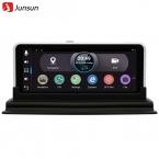 Junsun 7 дюймов Автомобильный ВИДЕОРЕГИСТРАТОР Заднего вида Gps-навигации Android 4.4 с DVR Camera Recorder FM WI-FI спутниковой навигации Навигатор заднего вида камера