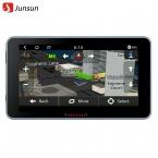 """7 """"Android 4.4.2 Автомобильный GPS Навигации FHD 1080 P Автомобильный ВИДЕОРЕГИСТРАТОР Камеры рекордер Автомобиля gps Wi-Fi Bluetooth MT8127 Quad-core Бесплатно карта"""